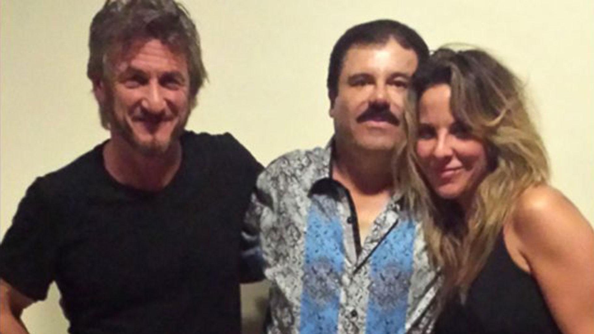 """Su encuentro con Sean Penn y """"El Chapo"""" Guzmán, en octubre de 2015"""