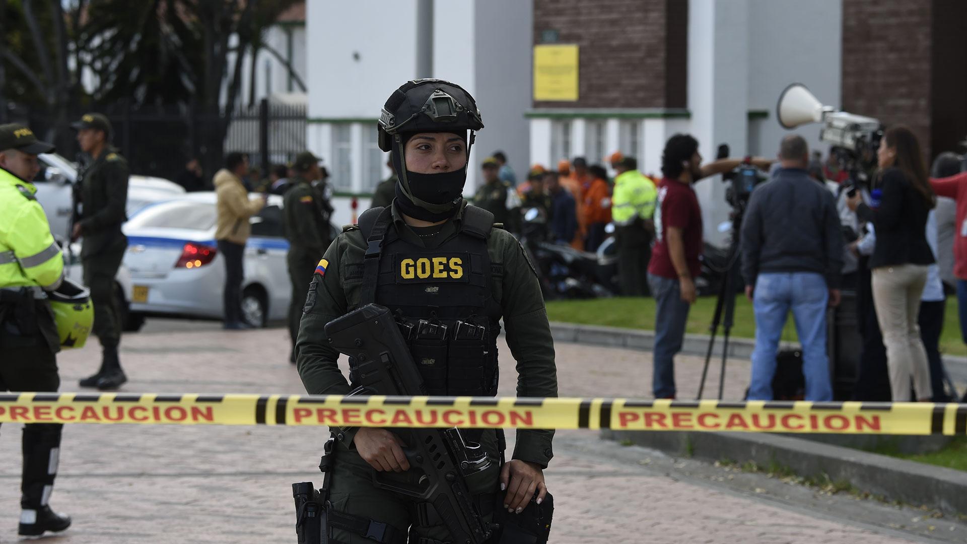 El ELN asumió la responsabilidad del ataque (AFP)