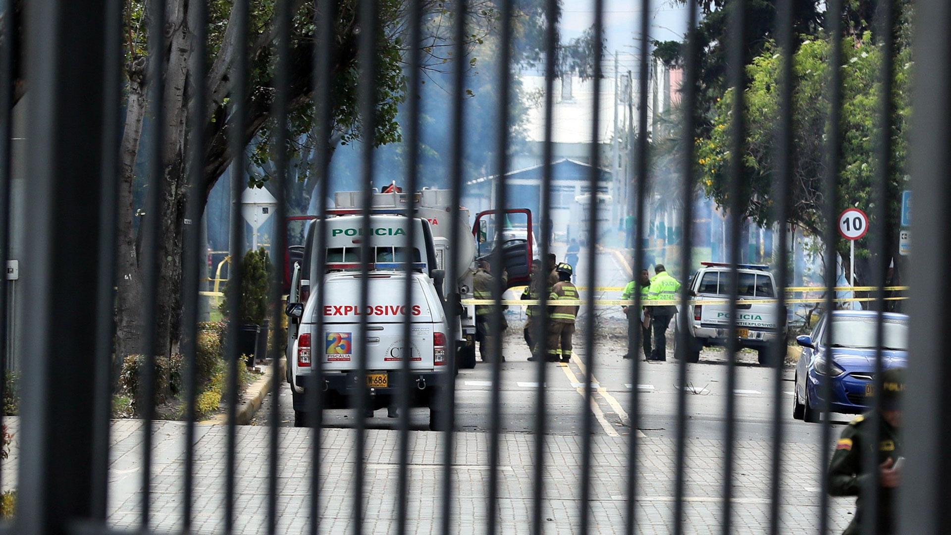 21 personas murieron en el atentado terrorista en Bogotá (EFE)