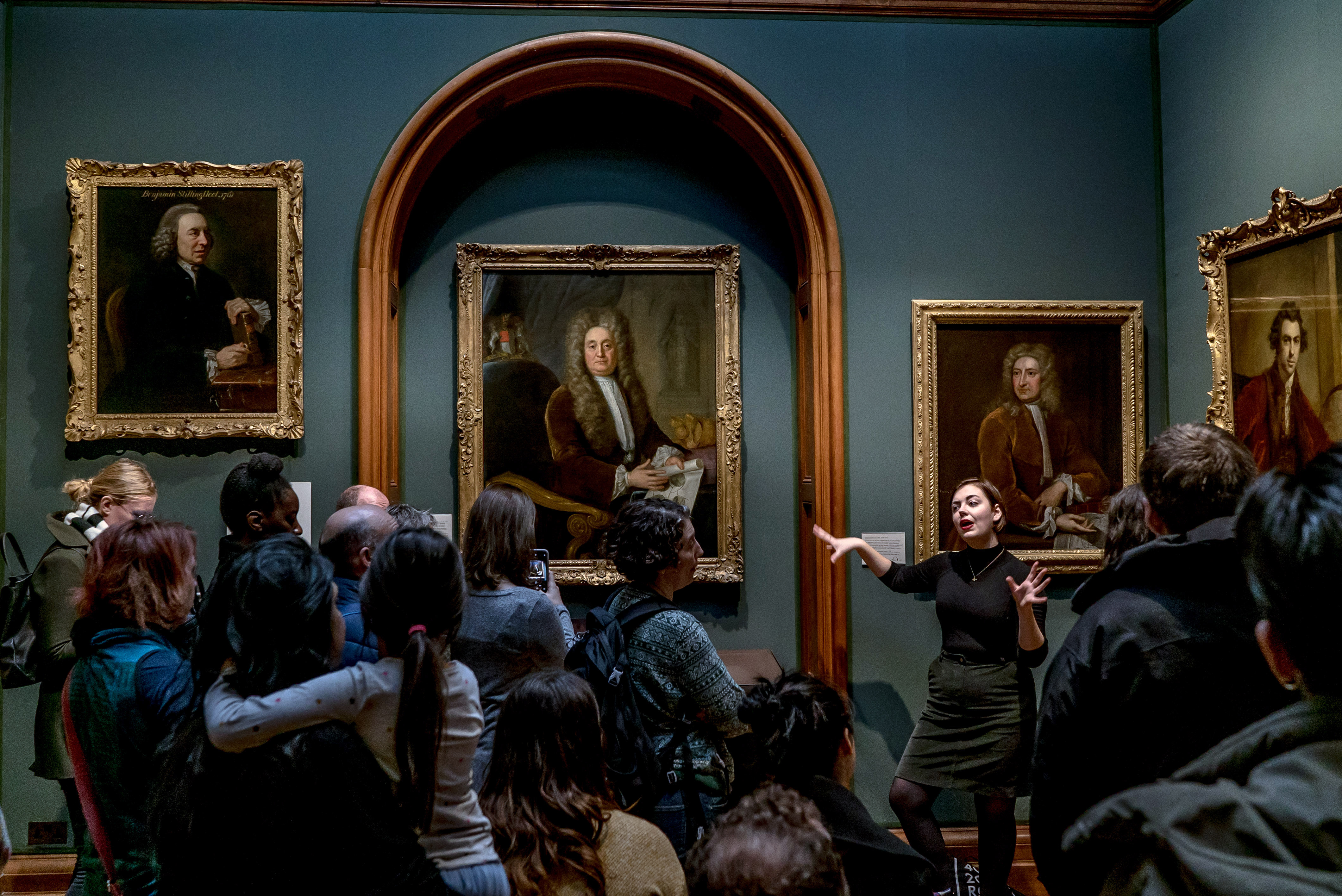 National Portrait Gallery en Londres (Andrew Testa/The New York Times)