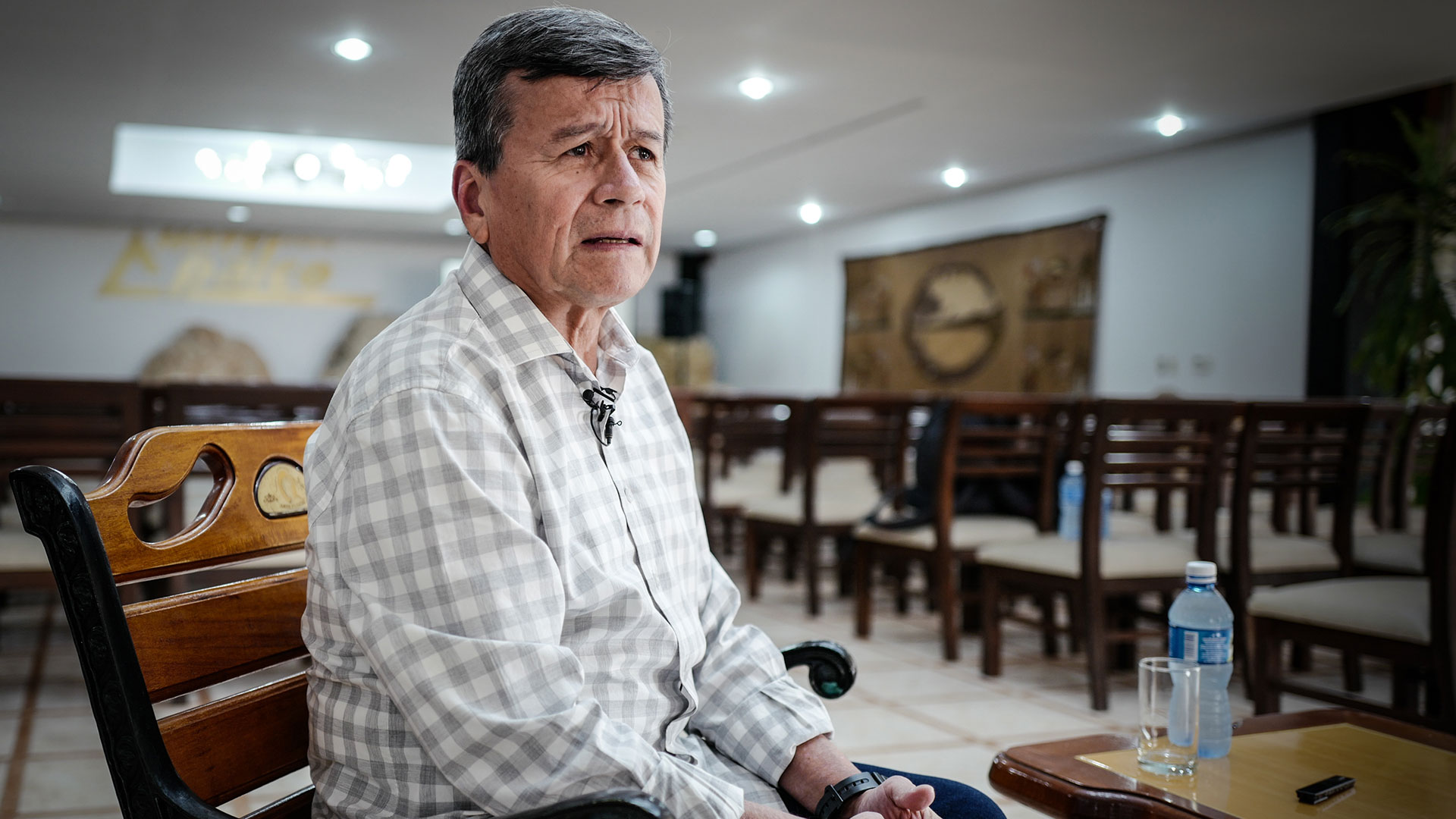 Beltrán pidió garantías para regresar a Colombia (AFP)