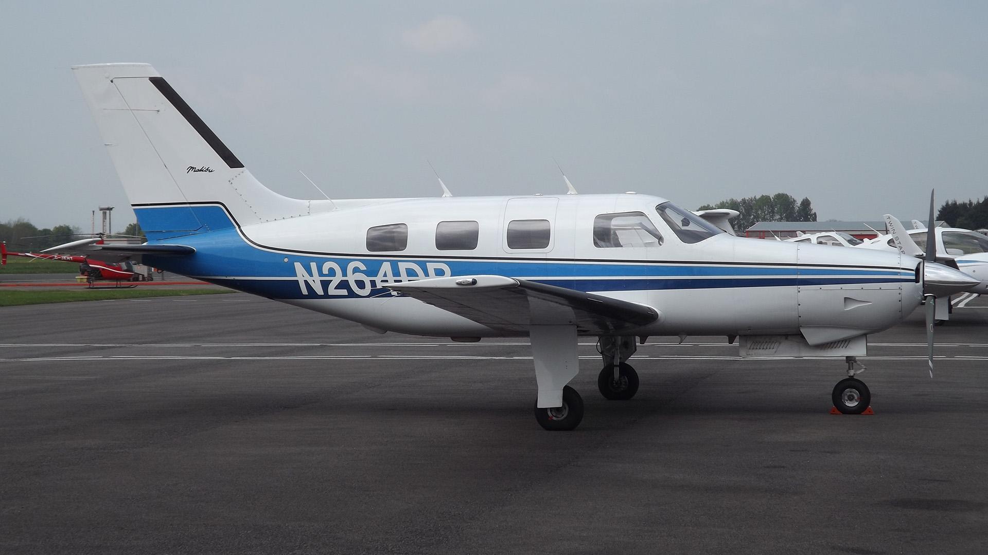El avión monomotor en el que viajaba Emiliano Sala (Foto: James from Cheltenham)