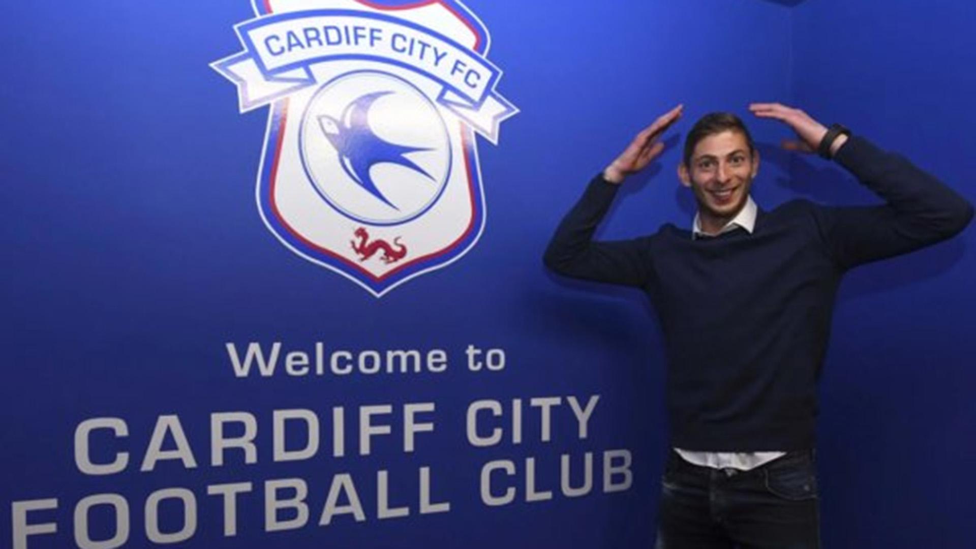 Emiliano Sala estaba viajando de Nantes a Cardiff, donde tendría su primer entrenamiento (Foto: www.cardiffcityfc.co.uk)