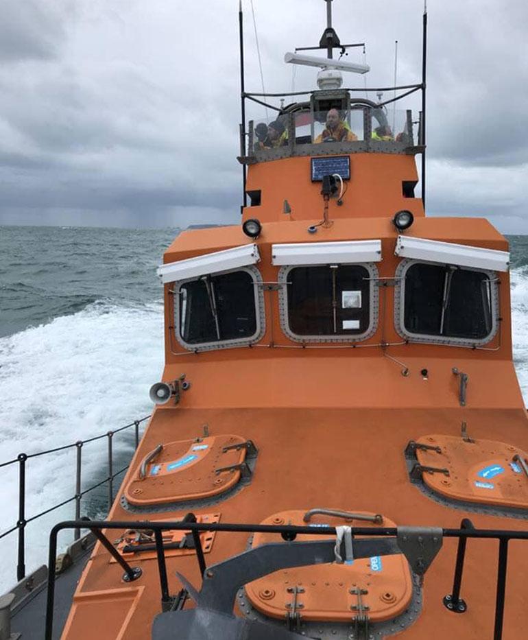 Uno de los buques involucrados en el rastreo