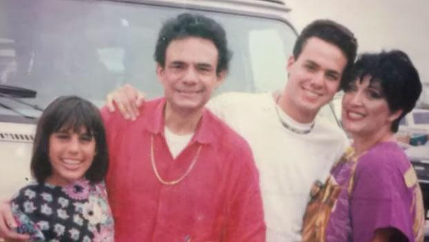 Anel y José José formaron una familia en los años 70 y 80. Tuvieron dos hijos, José Joel y Marisol Sosa (Foto: Jose Joel Sosa)