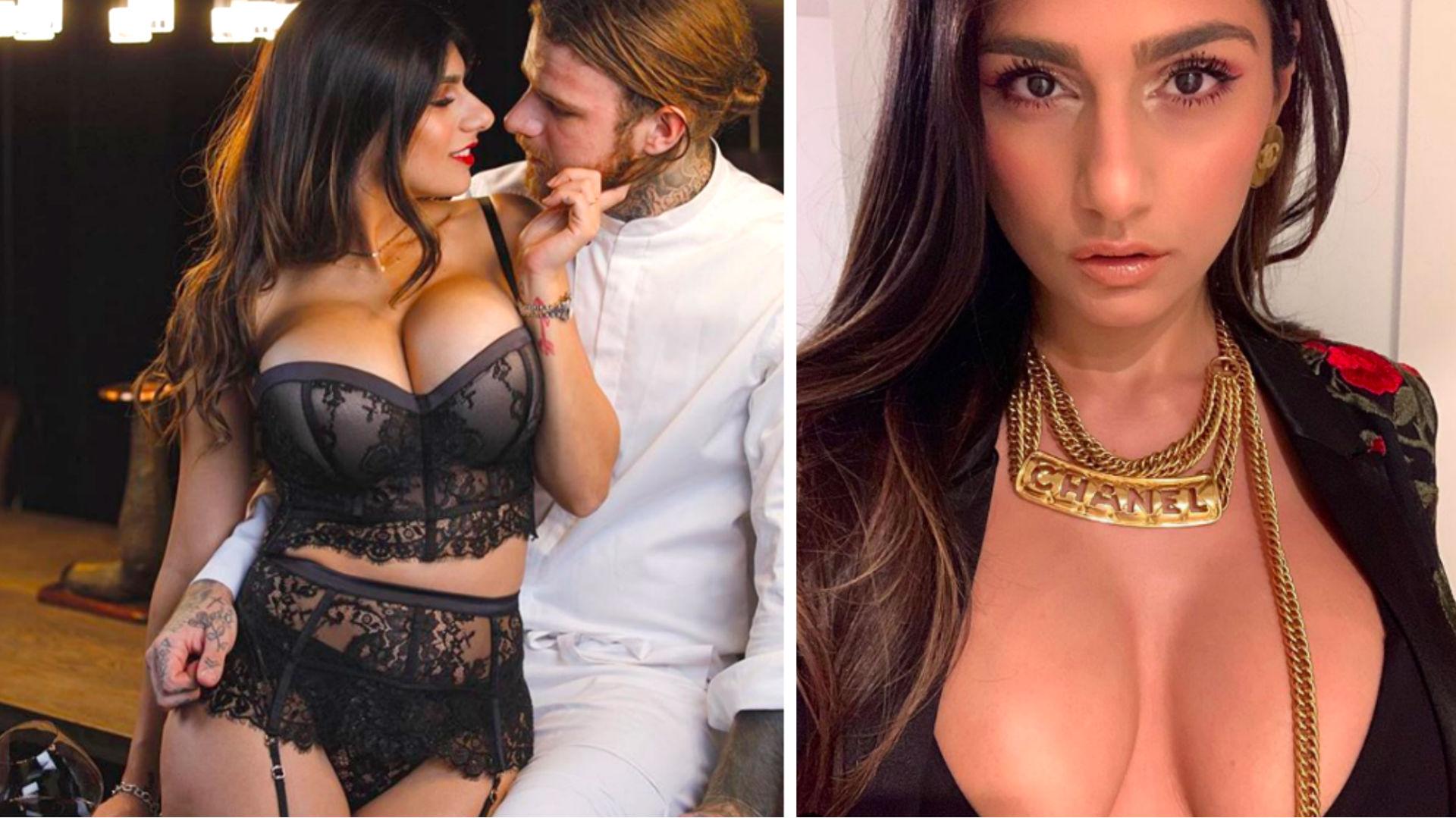 Actris Porno Mas Sexi la ex actriz porno mia khalifa presume su celulitis y así