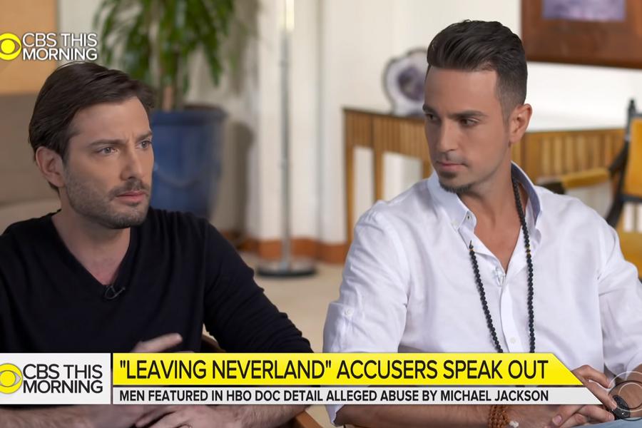 Wade Robson y James Safechuck dijeron que fueron víctimas de abuso sexual por parte de Michael Jackson (Foto: CBS This Morning)