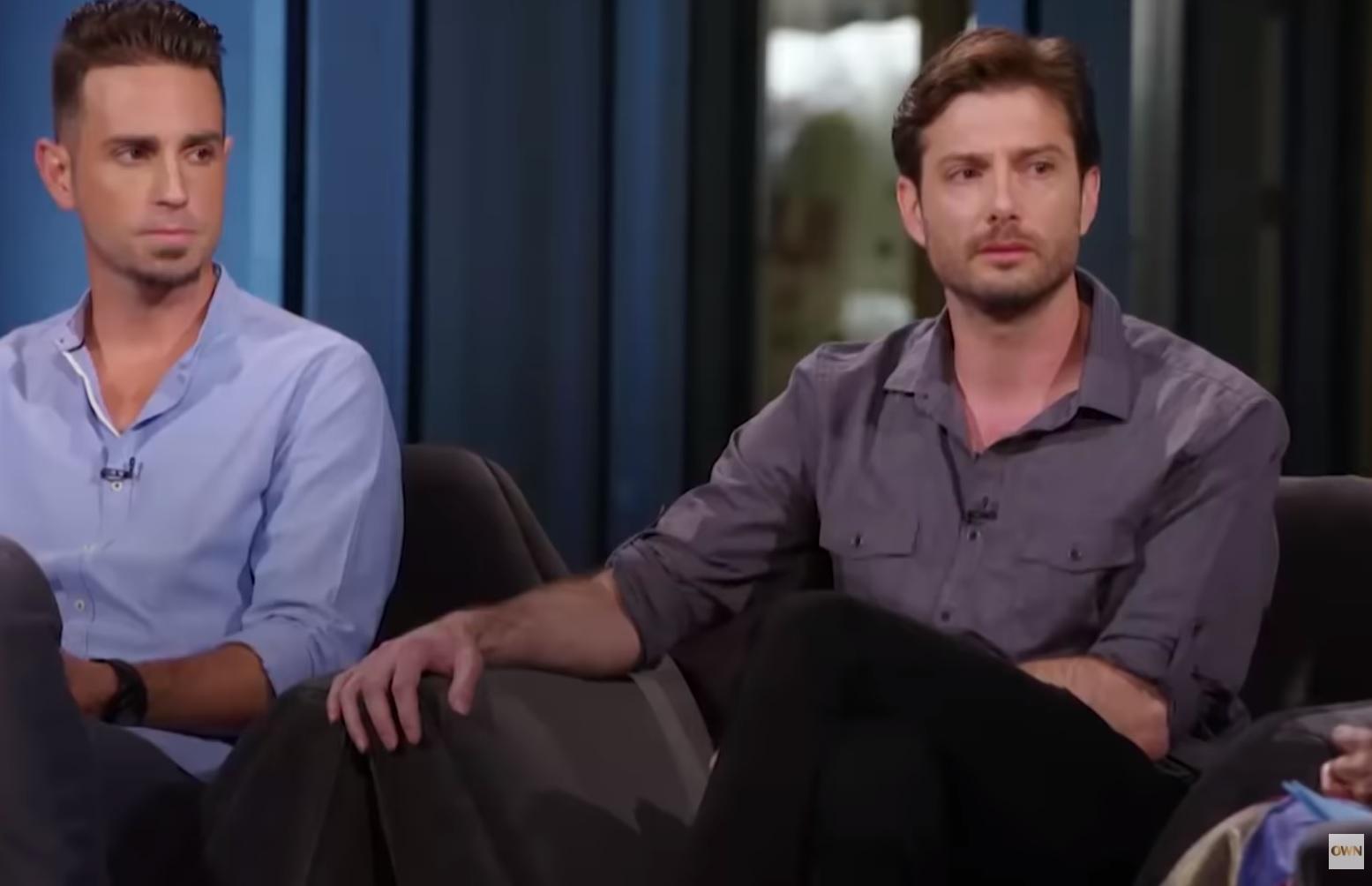 James Safechuck y Wade Robson hablaron con Oprah. (Foto: YouTube, OWN)